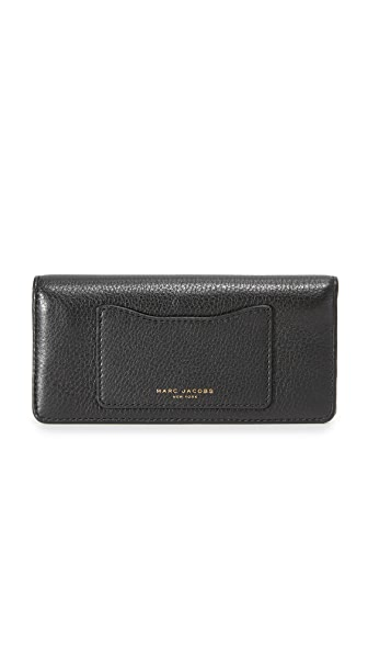 Marc Jacobs Recruit Open Face Wallet - Black
