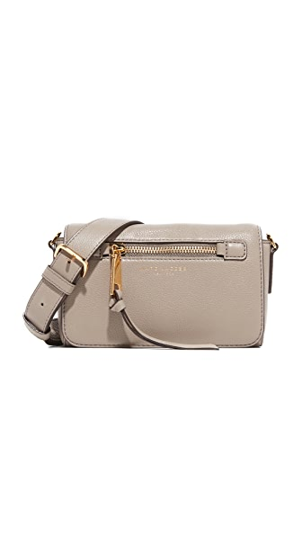 Marc Jacobs Recruit Cross Body Bag - Mink
