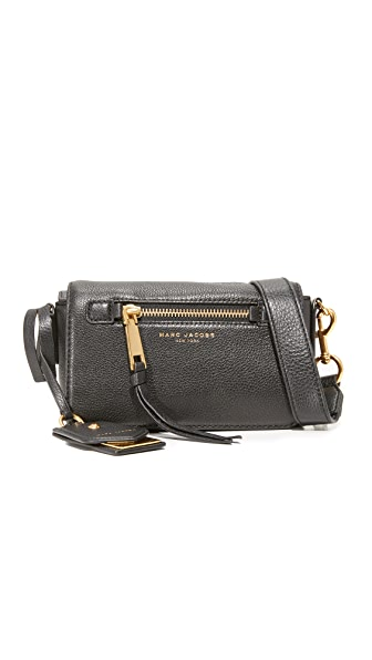 Marc Jacobs Recruit Cross Body Bag In Black