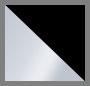 Stainless Steel/Glossy Black
