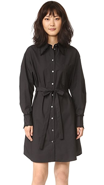 Marc Jacobs Платье-рубашка свободного кроя