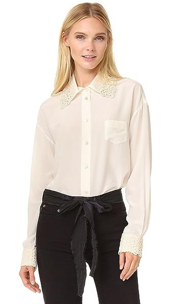 Marc Jacobs Объемная рубашка на пуговицах