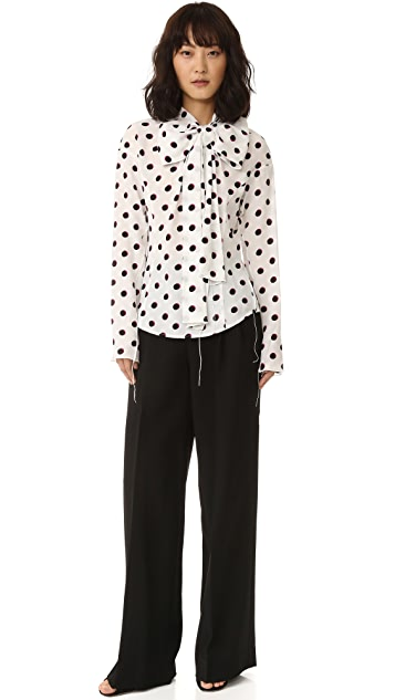 Marc Jacobs Long Sleeve Shirt with Bow
