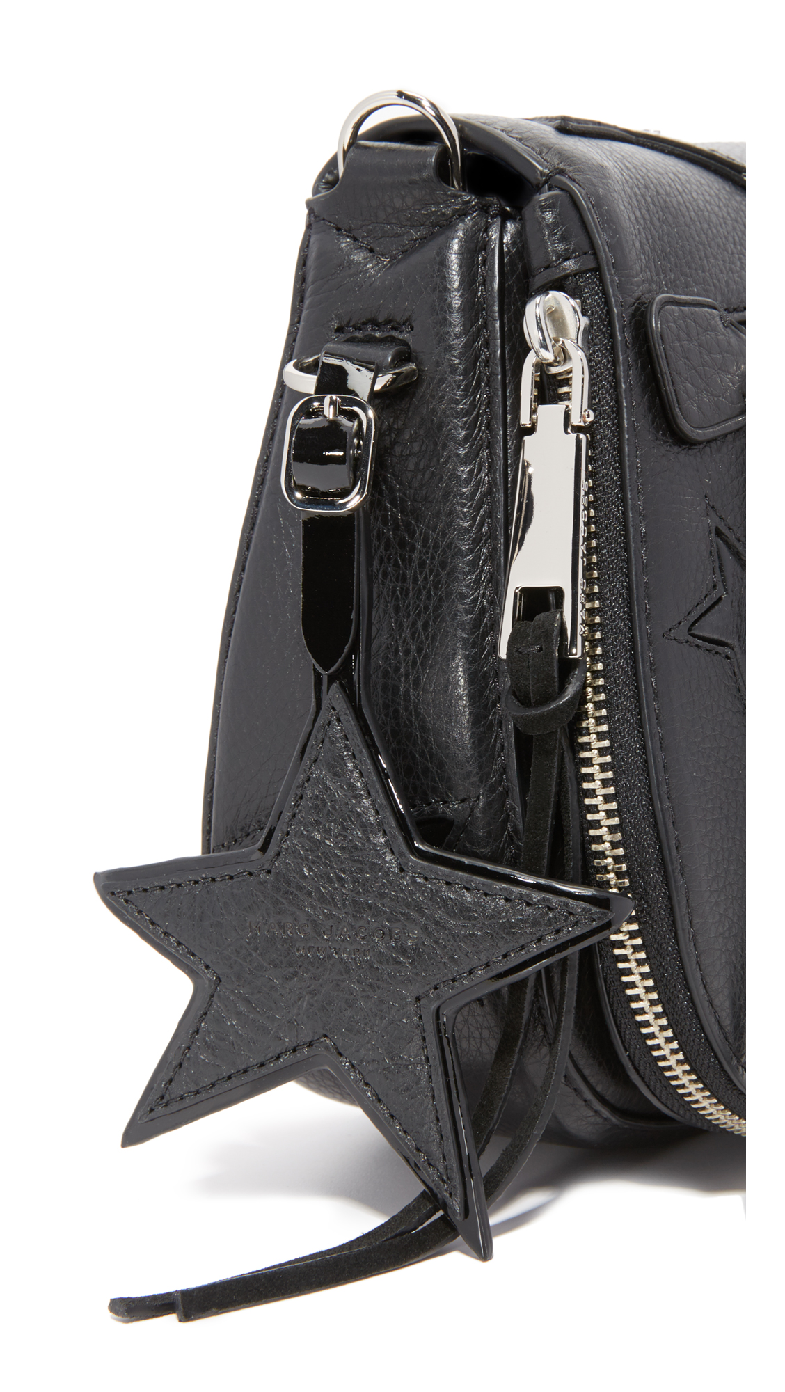 5c9e53bb91c2 Marc Jacobs Star Patchwork Small Saddle Bag