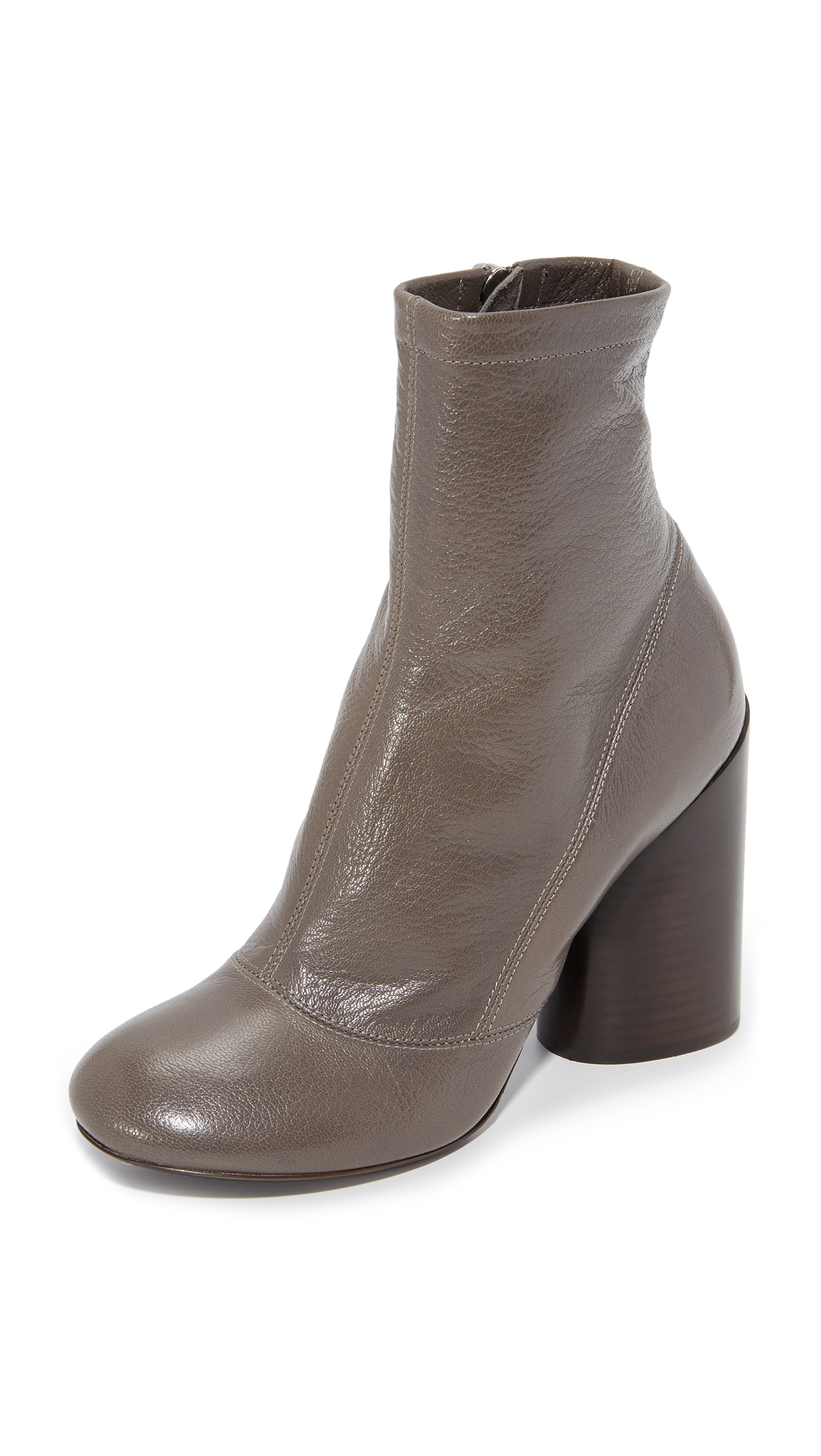 Marc Jacobs Grace Booties - Dark Grey