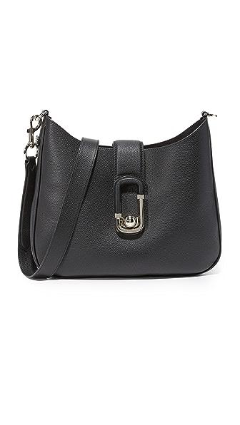 Marc Jacobs Interlock Hobo Bag - Black