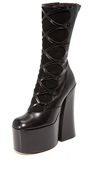 Marc Jacobs Dede Platform Button Boots
