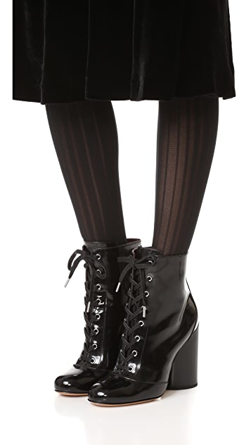 Marc Jacobs Tori Lace Up Booties
