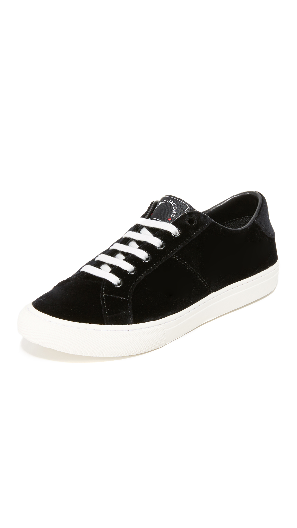 marc jacobs female 188971 marc jacobs empire low top sneakers black