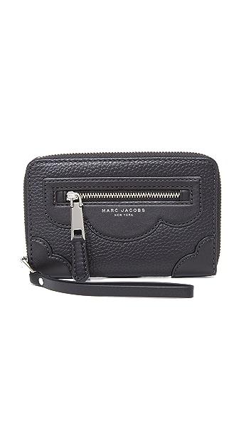 Marc Jacobs Haze Zip Phone Wristlet - Black at Shopbop