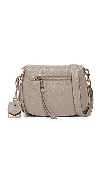 Marc Jacobs Recruit Saddle Bag In Mink