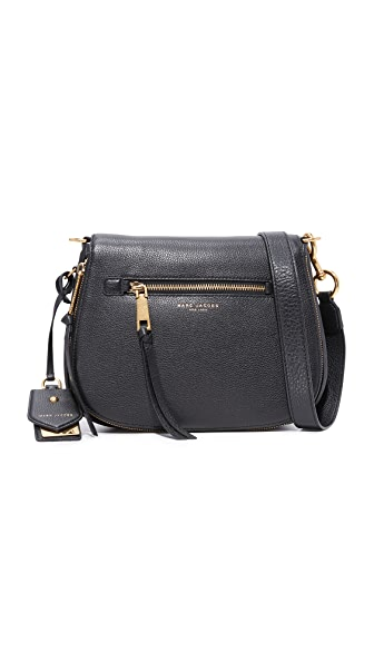Marc Jacobs Recruit Saddle Bag - Black