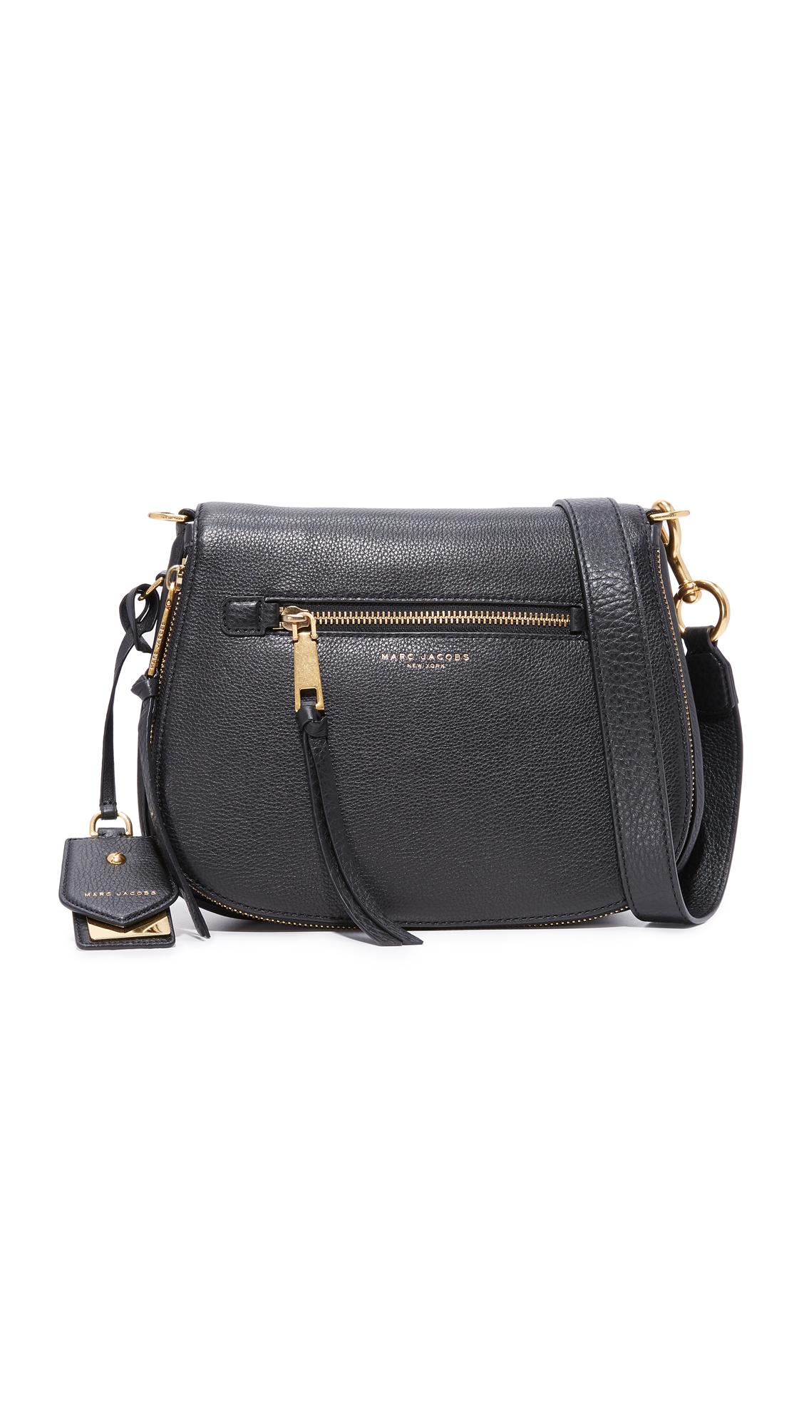 Marc Jacobs Recruit Saddle Bag - Black