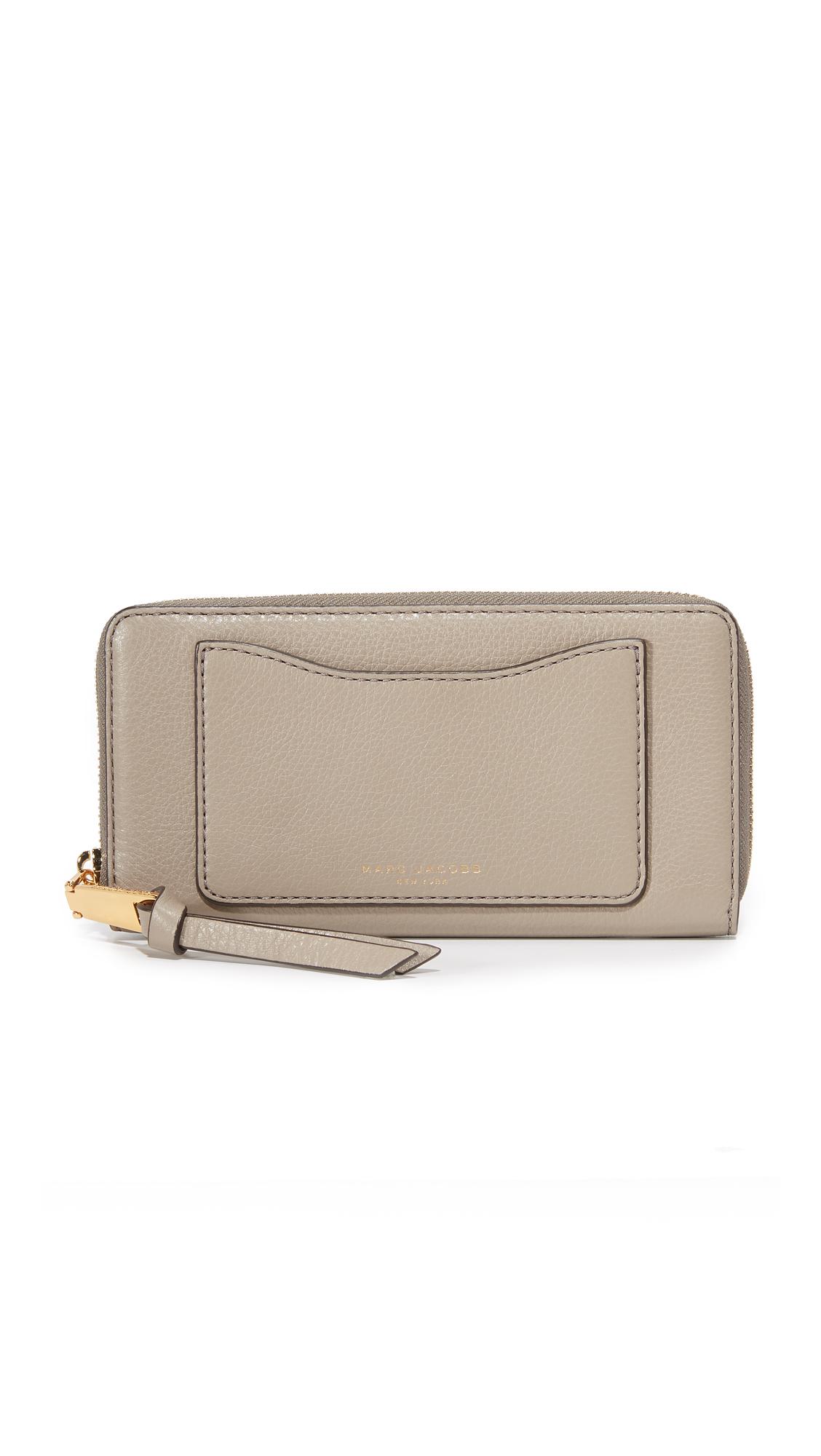 marc jacobs female marc jacobs recruit standard continental wallet mink