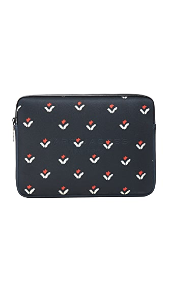 "Marc Jacobs Tulip Print 13"" Commuter Case"