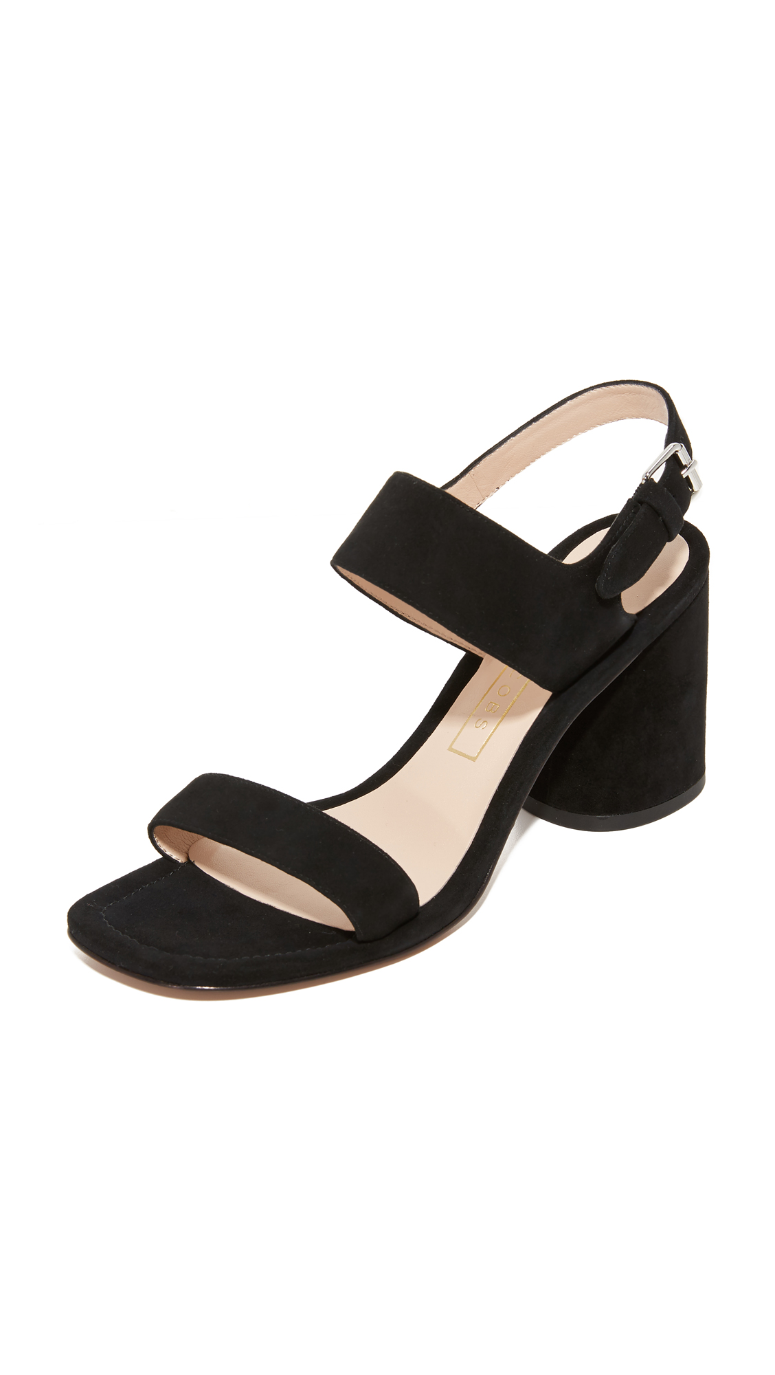 marc jacobs female marc jacobs emilie strap sandals black