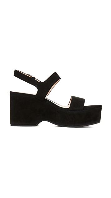 Marc Jacobs Lily Wedge Sandals
