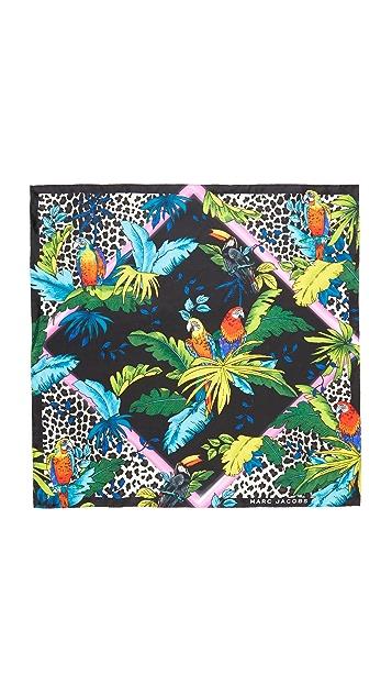 Marc Jacobs Parrots Scarf