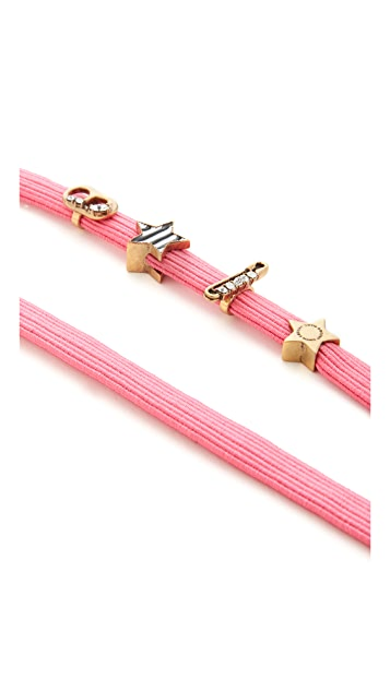 Marc Jacobs Soda Lids Safety Pin Head Band