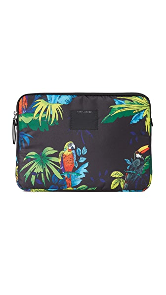 "Marc Jacobs 13"" B.Y.O.T. Parrot Neoprene Computer Case"