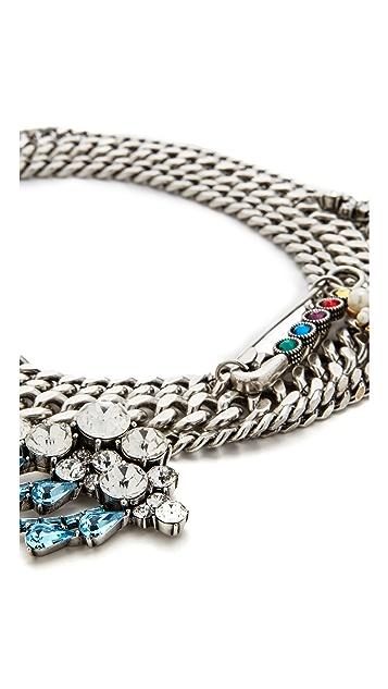 Marc Jacobs Cloudy Bubble Statement Necklace