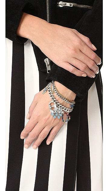 Marc Jacobs Cloud and Rainbow Charm Bracelet