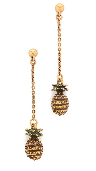 Marc Jacobs Pineapple Drop Earrings