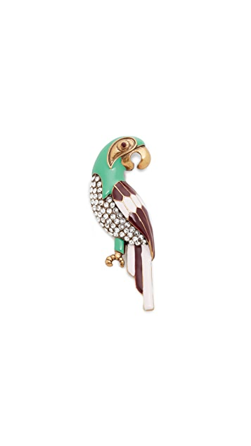 Marc Jacobs Parrot Brooch
