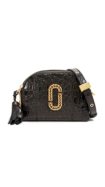 Marc Jacobs Croc Embossed Shutter Camera Bag