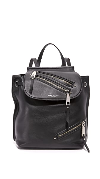 Marc Jacobs Zip Pack Backpack - Black