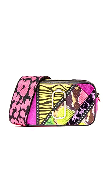 Marc Jacobs 80s Patchwork Snapshot Camera Bag
