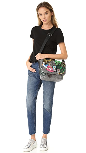 Marc Jacobs Courier Paradise Small Shoulder Bag