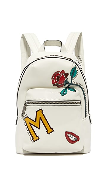 Marc Jacobs Biker MJ Collage Biker Backpack