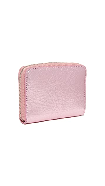 Marc Jacobs Bow Zip Card Case