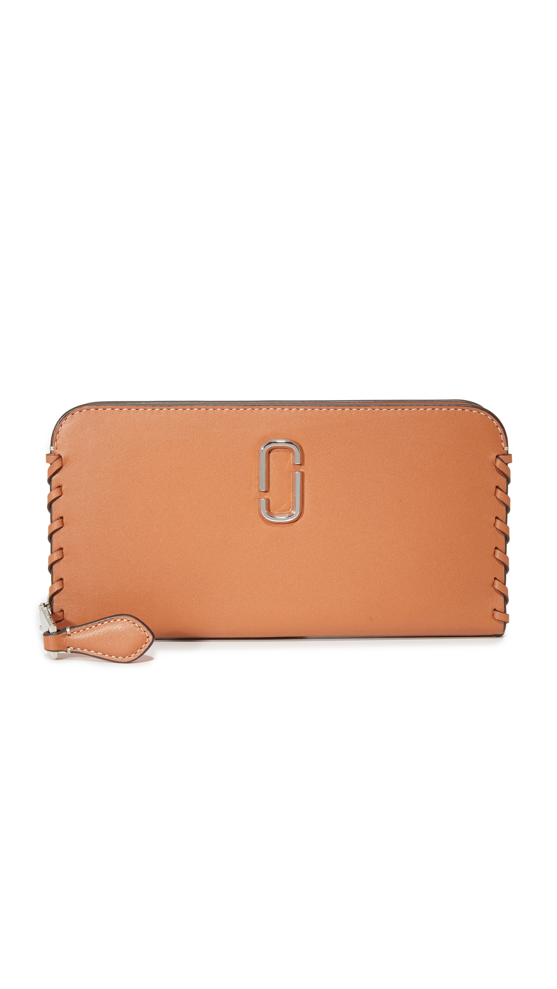 marc jacobs female marc jacobs noho continental wallet caramel cafe