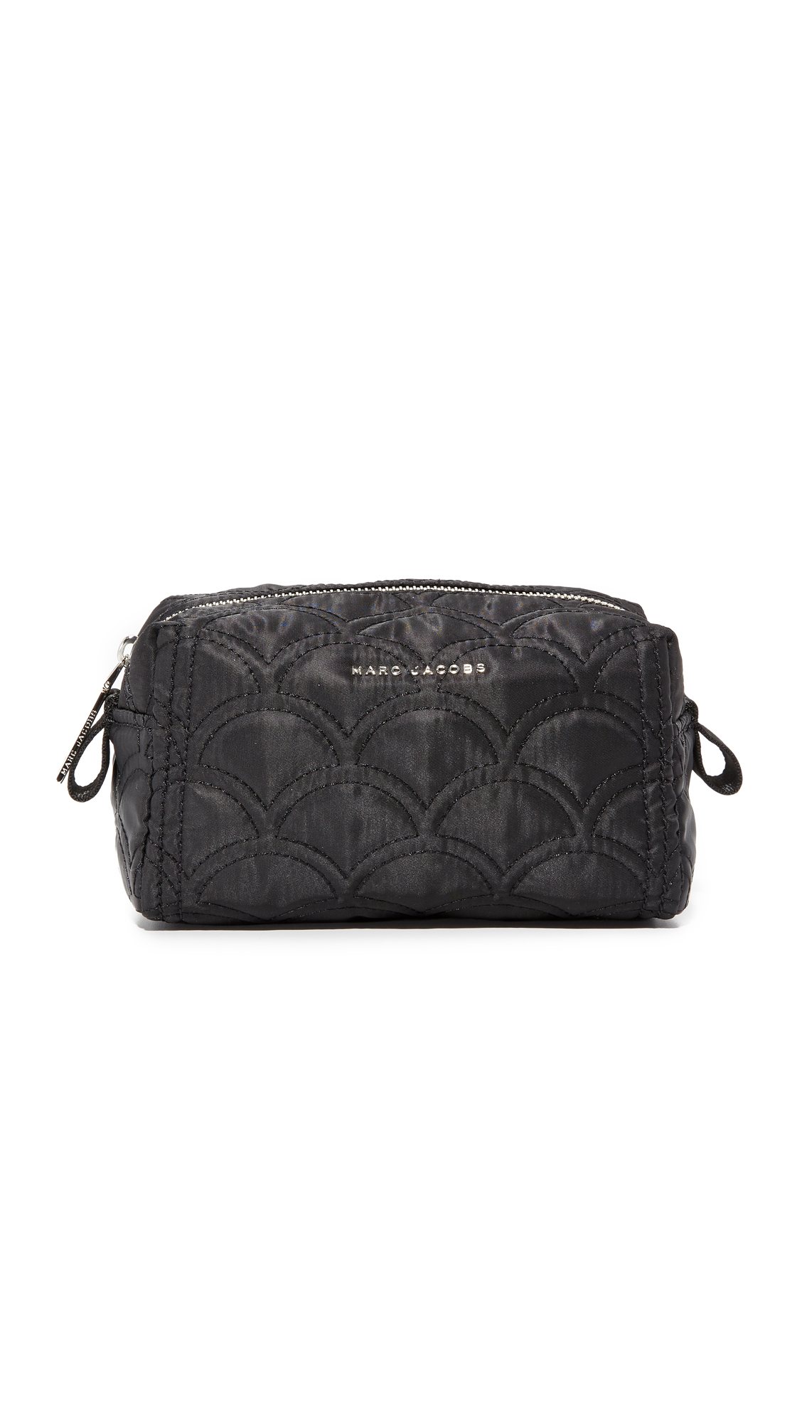marc jacobs female marc jacobs easy quilted large cosmetic case black