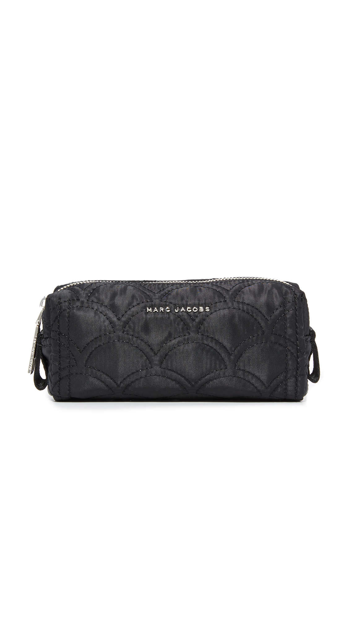 marc jacobs female marc jacobs easy quilted skinny cosmetic case black