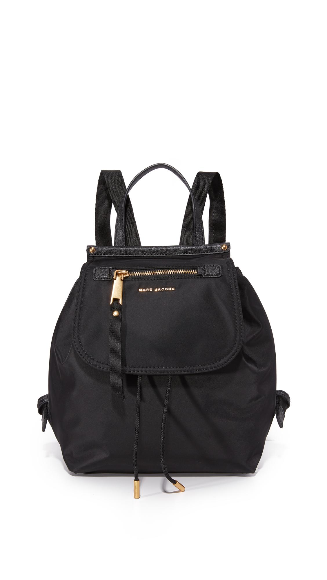 marc jacobs female 188971 marc jacobs trooper backpack black