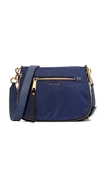 Marc Jacobs Trooper Nomad Saddle Bag In Midnight Blue
