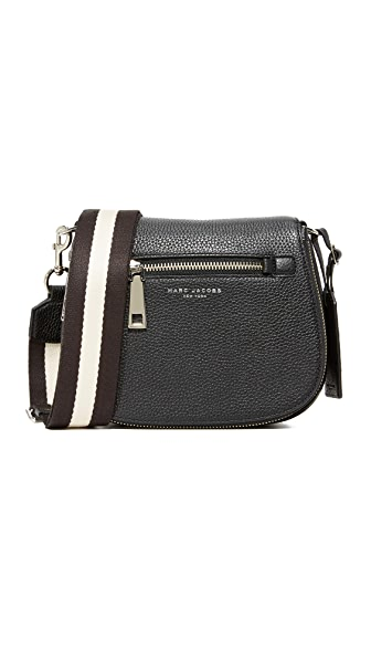 Marc Jacobs Gotham Small Nomad Saddle Bag - Black