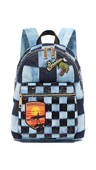 Marc Jacobs Denim Biker Backpack at Shopbop