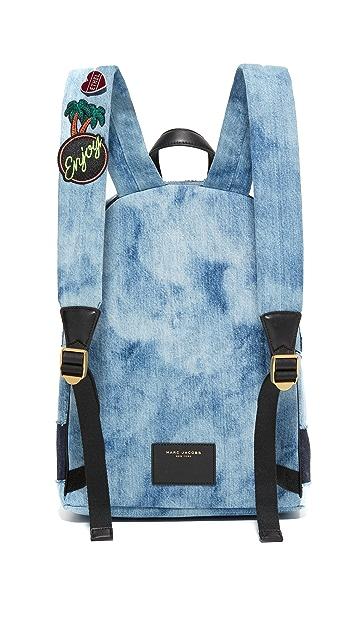 Marc Jacobs Denim Biker Backpack