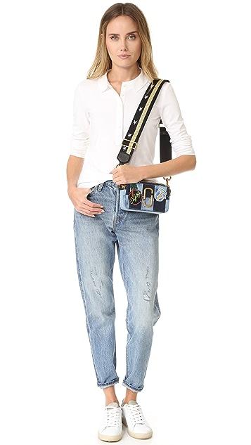 Marc Jacobs Denim Snapshot Camera Bag