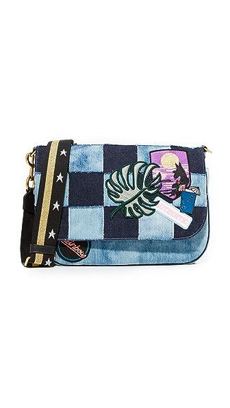 Marc Jacobs Courier Denim Shoulder Bag