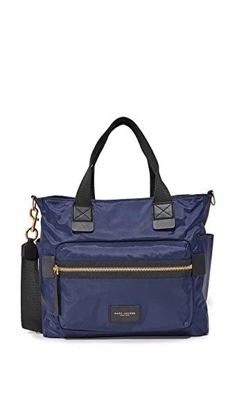 Marc Jacobs Nylon Biker Baby Bag - Midnight Blue