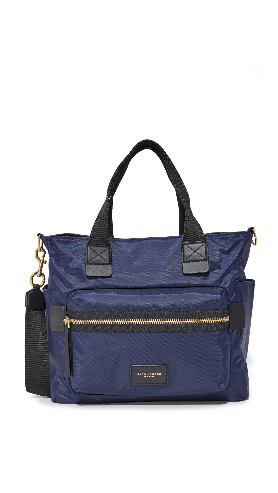 marc jacobs female 201964 marc jacobs nylon biker baby bag midnight blue