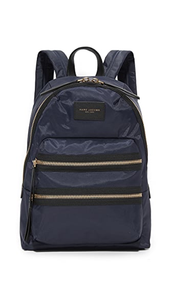 Marc Jacobs Nylon Biker Backpack - Midnight Blue