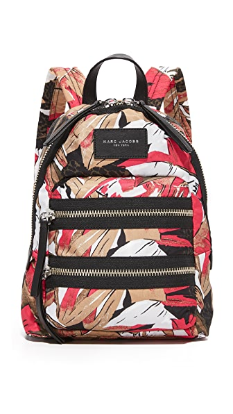 Marc Jacobs Palm Print Biker Mini Backpack