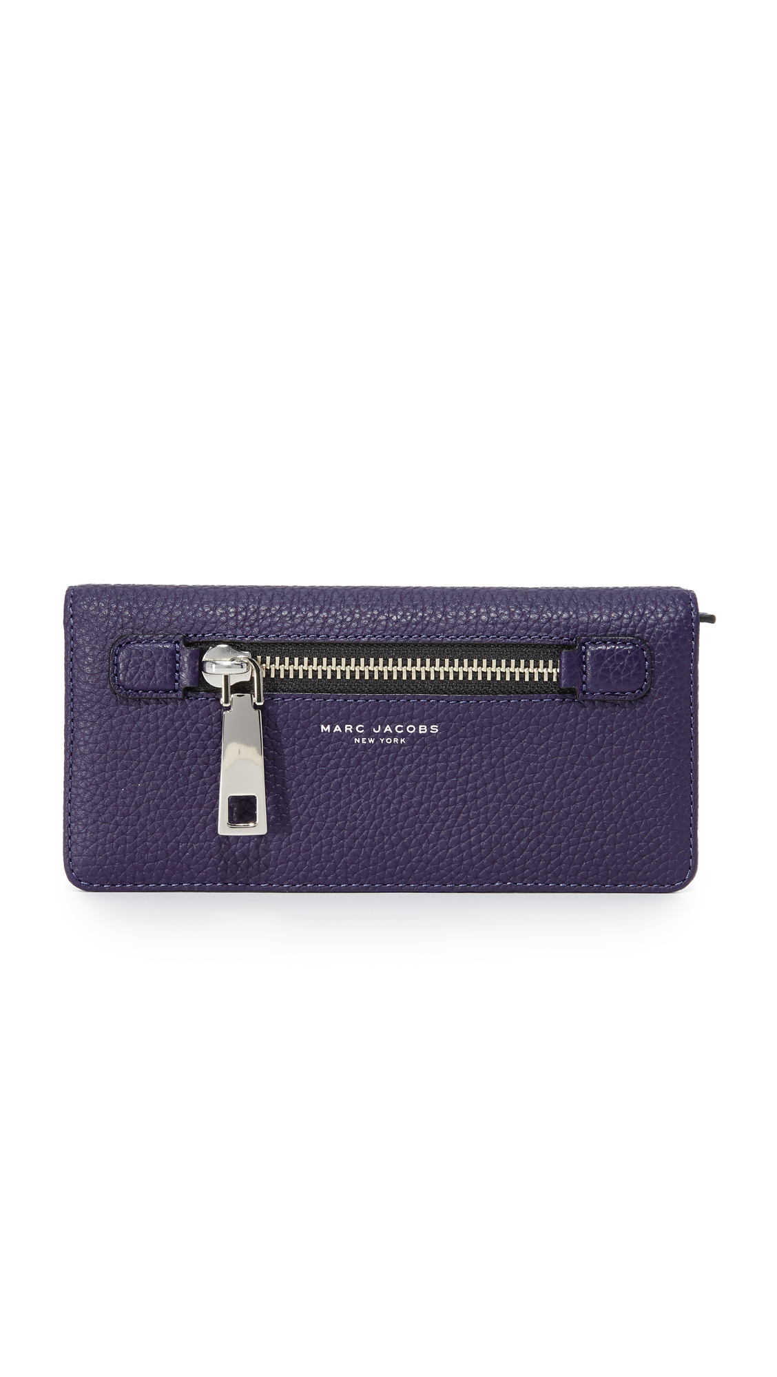 marc jacobs female marc jacobs gotham open face wallet nightshade
