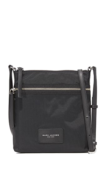 Marc Jacobs Nylon Biker Cross Body Bag - Black